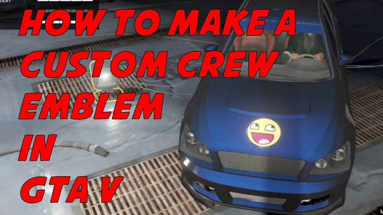 Crew Emblem on Car Crew Emblem in Gta v