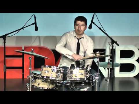 TEDxNBU - Venko Poromanski - How I learned to play drums
