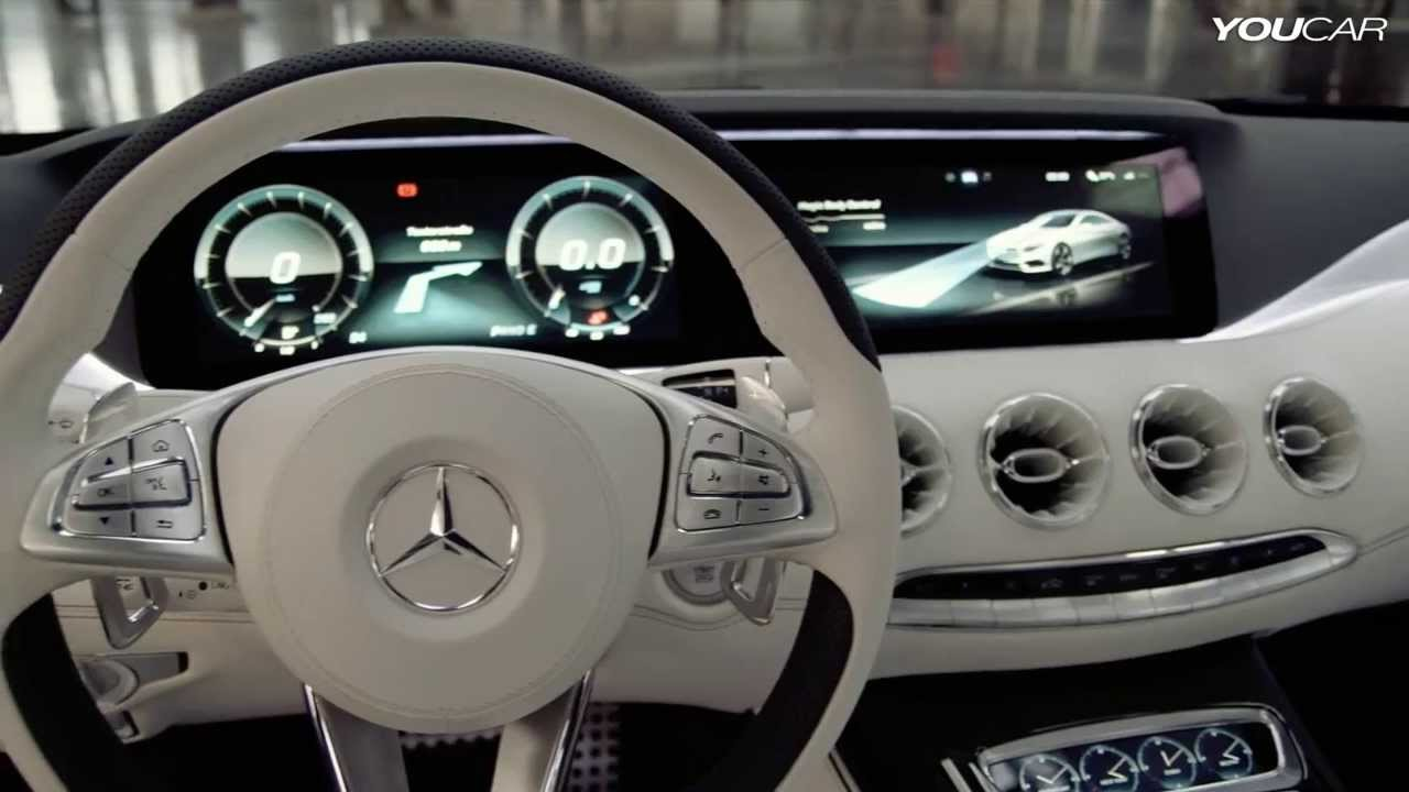 Mercedes S-Class Coupe Concept INTERIOR - YouTube