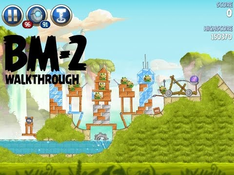 Angry Birds Star Wars 2 Level BM-2 Master Your Destiny 3 Star Walkthrough