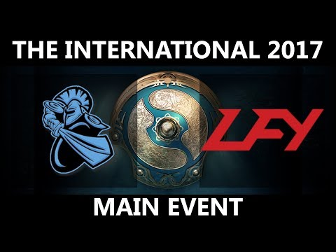 NewBee vs LFY GAME 1, The International 2017, LFY vs NewBee