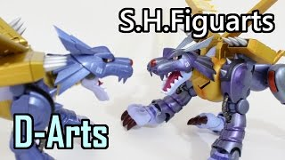 MetalGarurumon(メタルガルルモン)-Old(D-Arts) vs New(SHF)-Original Designer