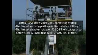 Products - 2010 ORXL Over-The-Row Harvester - Littau Harvester