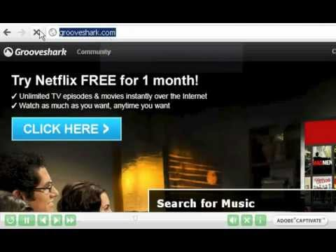 Download Free Streaming Music from Grooveshark with Flv Recorder