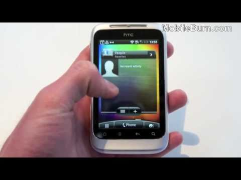 HTC Wildfire S live video demo from MWC