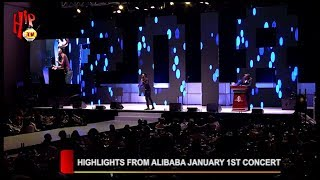HIGHLIGHTS FROM ALIBABA JANUARY 1ST CONCERT