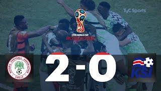 Highlights Nigeria vs. Islandia | #TyCSportsMundial