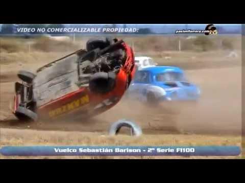 Sebastian Barison Flips @ 2014 Formula 1100 Round 8 Race 2