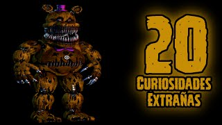 TOP 20: 20 Curiosidades Extrañas De Nightmare Fredbear En Five Nights At Freddy