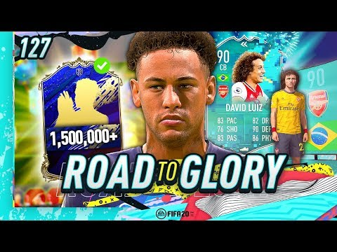 FIFA 20 ROAD TO GLORY #127 - 1.5M COIN TOTY PLAYER!!