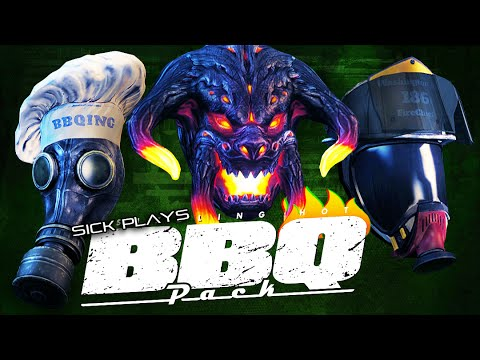 PAYDAY 2 BBQ Pack Masks Unlocked - the Gas Mask | Graug | Firefighter's Helmet | The Chef