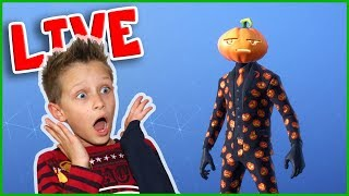 New JACK GOURDON Skin Gameplay w/ Mini Ninja, Fortnite Live Stream!!!