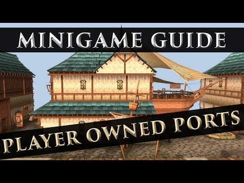 RuneScape 3 – Player Owned Ports – Updated Guide