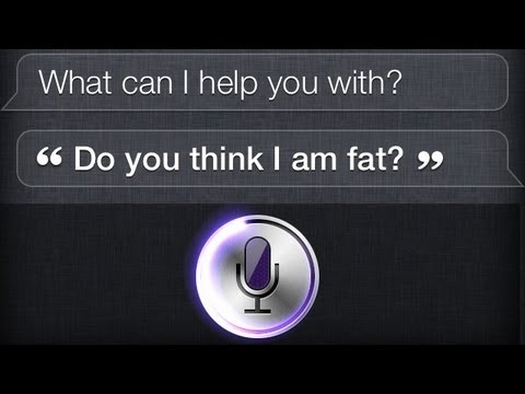 Siri, Am I Fat?