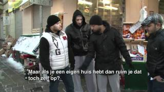 Salaheddine bezoekt de Ghetto's in Brussel