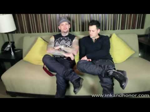 Benji & Joel Madden of Good Charlotte interview for Ink & Honor