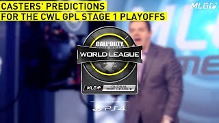 CWL Global Pro League Stage 1 Playoff Caster Predictions