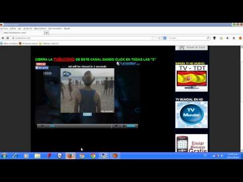 TELEVISION GRATIS ONLINE SIN DESCARGAR NADA (TV CABLE)