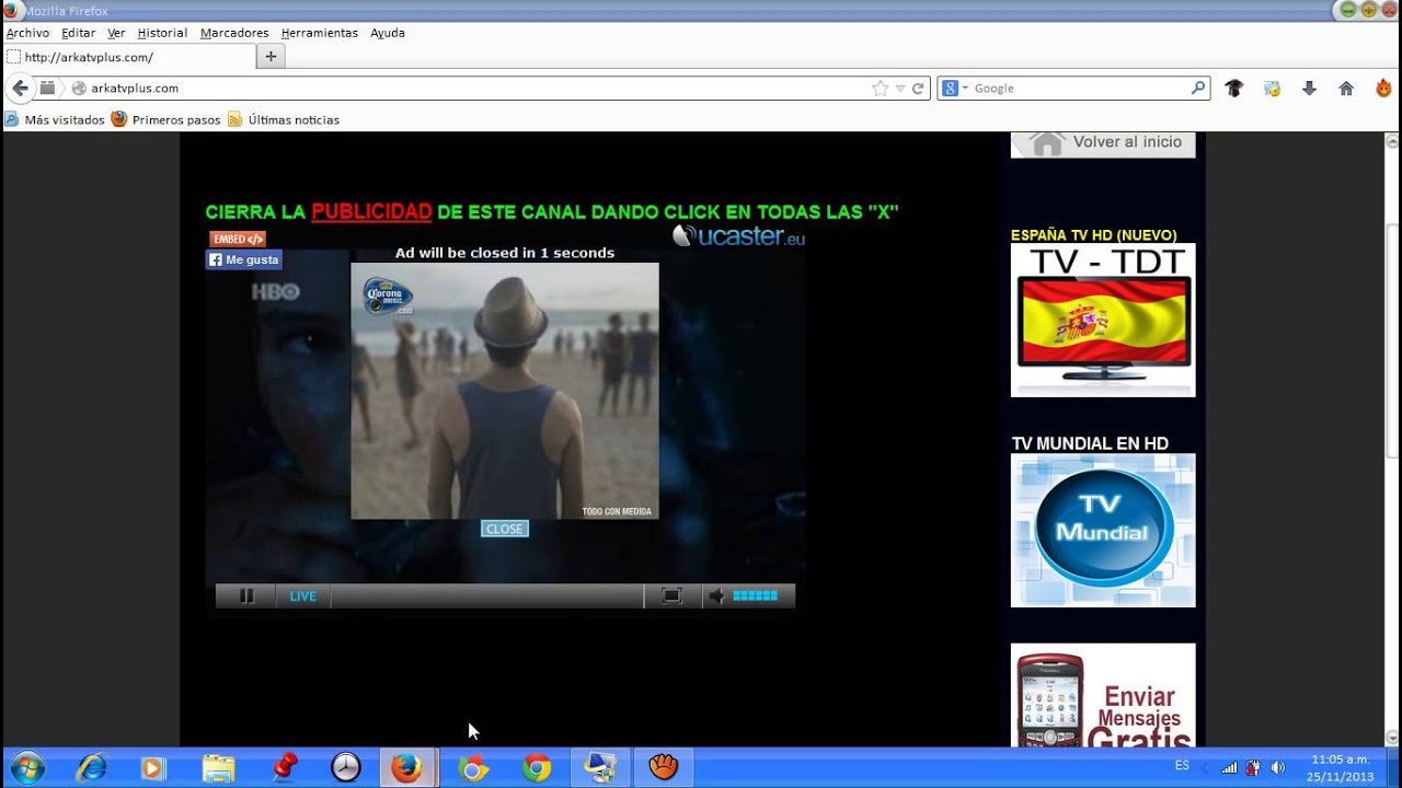 TELEVISION GRATIS ONLINE SIN DESCARGAR NADA (TV CABLE) - YouTube