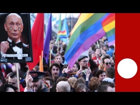 Thousands protest Putin s Amsterdam visit