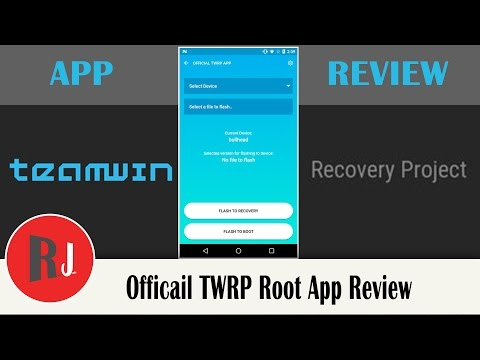 Official TWRP App Review