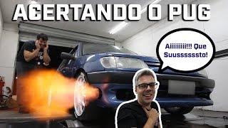 PEUGEOT 306 ACERTANDO NOVA TURBINA, quanto veio de roda? + BÔNUS LABAREDA (ft. MVS Preparações)