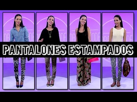 ¡Pantalones estampados! – Dress Code