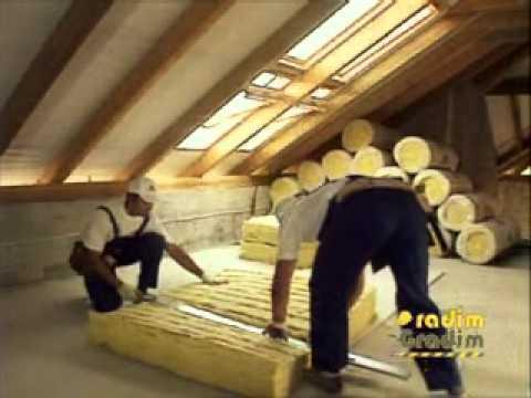 URSA izolacija kosi krov.wmv