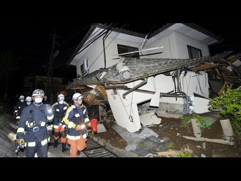 EARTHQUAKE MAGNITUDE 7 HIT JAPAN TODAY APRIL 15, 2016
