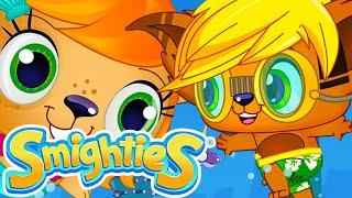 Smighties – Mermaid v/s Unicorn Sea Monster  Cartoons Compilation Just For Kids  Funny Kids Cartoons
