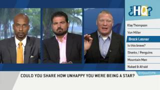 Brock Lesnar Interview On ESPN's Highly Questionable UFC 200