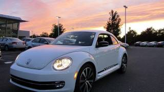 2012 Volkswagen Beetle Turbo Launch Edition Start Up, Exhaust, and In Depth Tour