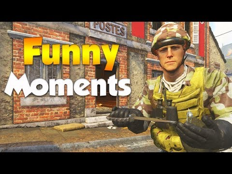 COD WW2 Funny Moments - (Epic Fails, Crazy Throwing Knife Kills, and Hilarious Rage)
