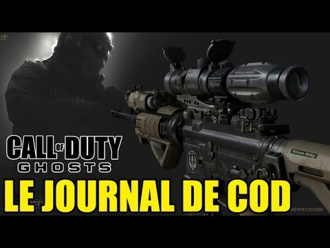 Le journal de COD #43 | COD ghosts Retour de la M4 ? | SkyRRoZ