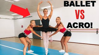 Teaching a BALLERINA a backflip in ONE day!