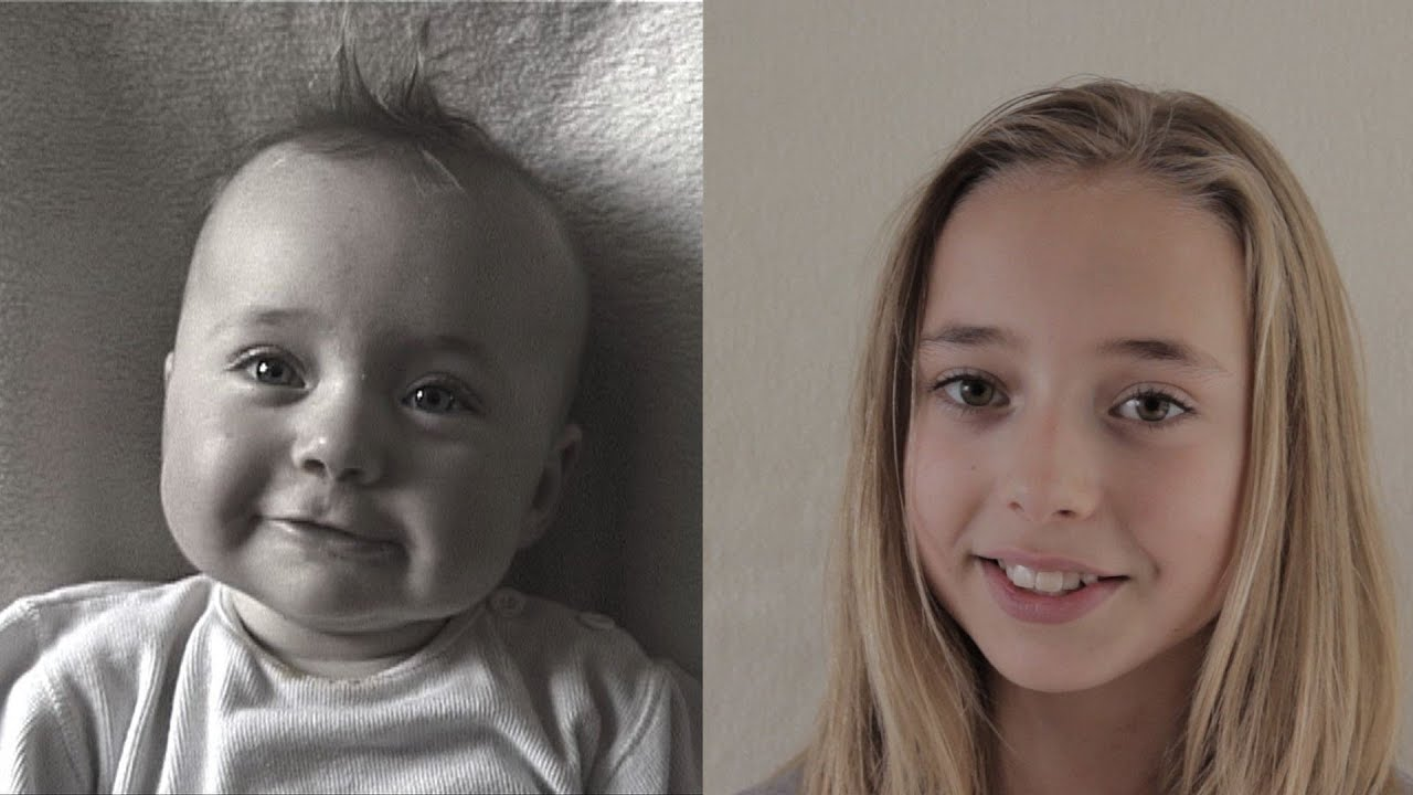 Birth to 12 years in 2 min. 45 sec. Time Lapse Lotte. (The Original ...: http://www.youtube.com/watch?v=RtyqS68ViWk