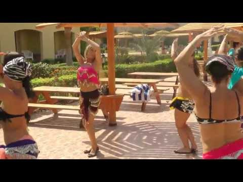 Intro To Egyptian Belly Dance Moves ..... video