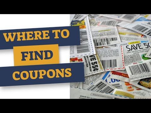 Coupons 101 - Part 1 Where to find coupons and start your collection