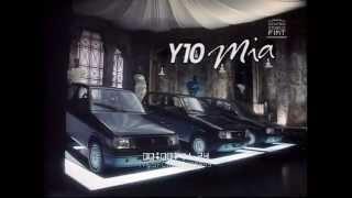 AD Lancia-Autobianchi Y10 Mia - Vernissage (Carol Alt) \\ 1991 \\ ita