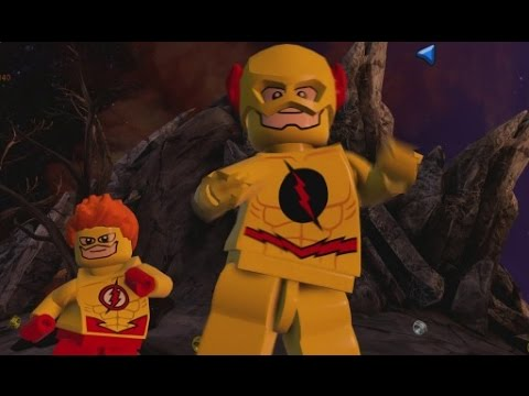 Flash Reverse Flash Dancing Lego Batman 3 Reverse Flash