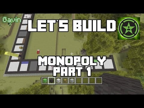Let's Build in Minecraft - Monopoly Part 1
