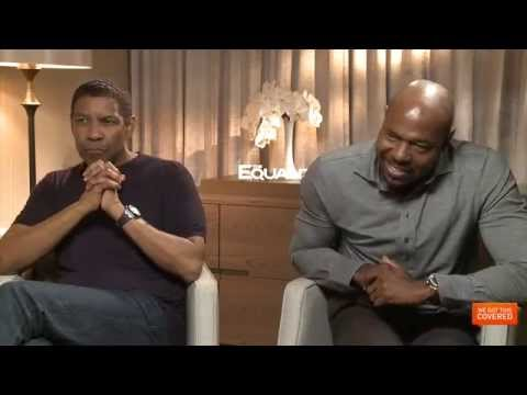 The Equalizer Interview With Denzel Washington, Chloe Moretz and Antoine Fuqua [HD]