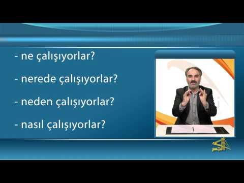 سلسلة تعليم اللغة التركية مع الدكتور