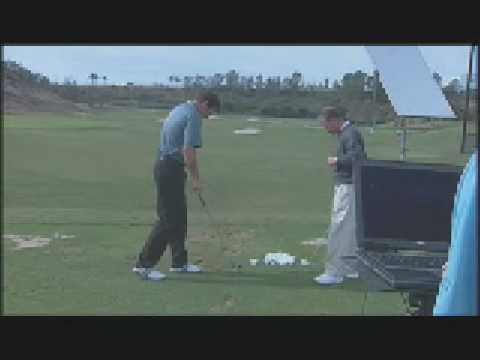 Nick Faldo test with new Burner Irons