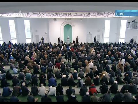 Urdu Khutba Juma 19th April 2013 - True Attributes of Muslims and their Responsibilities