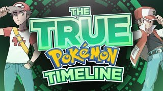 The TRUE Pokémon Timeline | Pokémon Theory