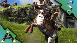 PERFECT EQUUS TAME! WILD VEGETABLES AND AWESOME RIVERS! - Ark: RAGNAROK [DLC Gameplay E5]