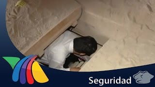 """Túnel por donde escapó """"El Chapo""""   Noticias"""