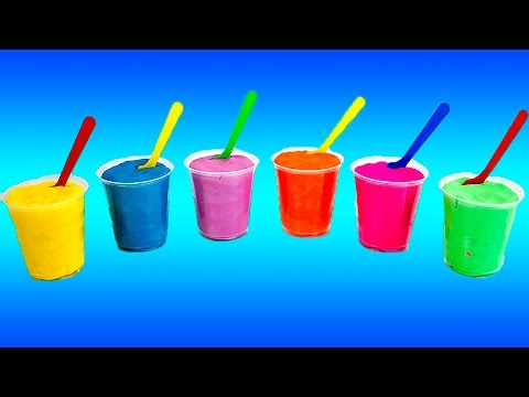 Play Doh Surprise Color Yogurt Cups - Surprise Toys inside