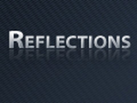 0 IceflowStudios Design Training   Photoshop: Reflections (HD)